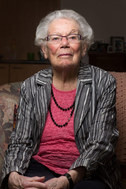 Mevrouw Petroff- van Gurp  Foto Tjitske Sluis