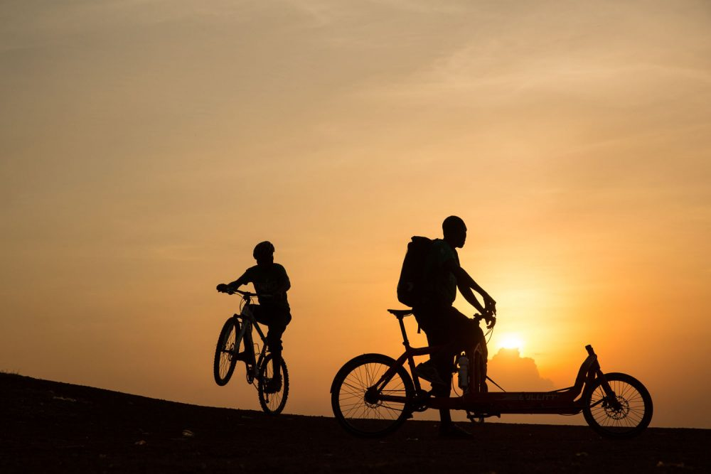 Kampala Cycling Couriers Foto Tjitske Sluis